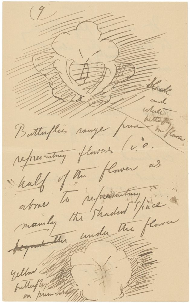 """A Collection of Five Letters to Various Recipients, as well as a letter from Charles Freer to Abbott Thayer discussing a Recent Visit and the Potential Purchase of Thayer's """"Monadnock in Winter"""" and """"Monadnock Mountain."""". American Art, Abbott Thayer."""