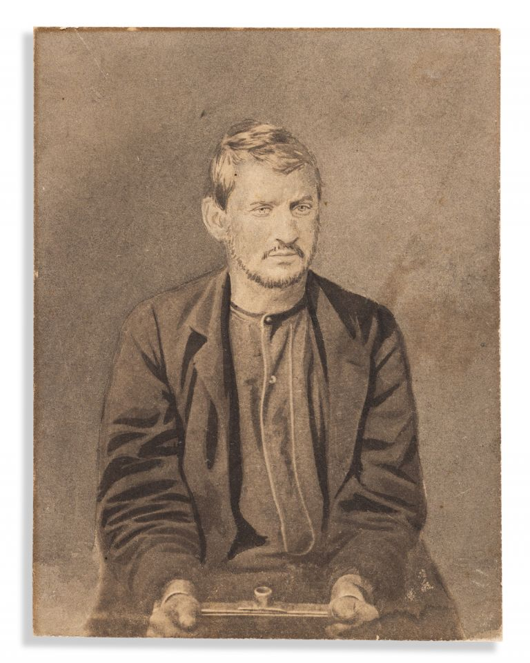 Five Retouched Photographs of the Lincoln Conspirators. Alexander Gardner, Lincoln Conspirators.