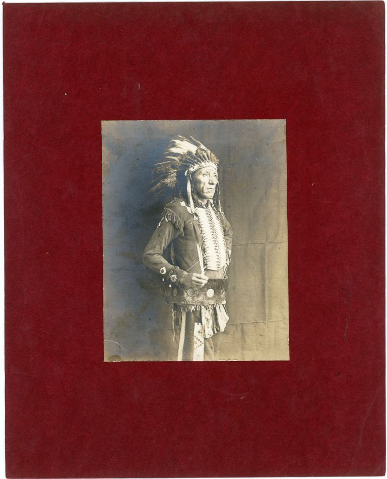 Seven Photographs of Crow including White Swan, Little Bear and One Star, c. 1900-1905. American Indians, Photographer Unknown, Crow.