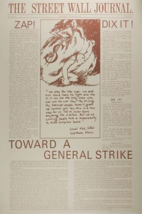 The Street Wall Journal, Numbers 1-3, with Two Variant Prints.