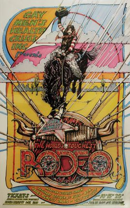 Poster for The World's Toughest Rodeo AIDS Benefit, Madison Square Garden, October 1st, 1983....