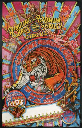 Poster for Ringling Brothers and Barnum and Bailey's Circus AIDS Benefit, Madison Square...