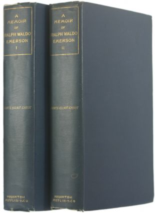 A Memoir of Ralph Waldo Emerson [Advance Copy, Inscribed by Cabot to James Russell Lowell]....