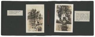 Two Photo Albums of a Young Woman's Trip to Bermuda, 1918. Bermuda