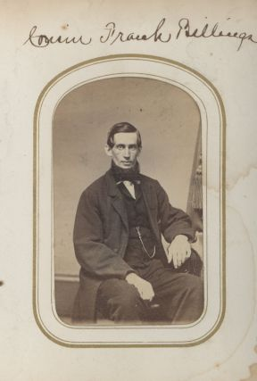 Personal Photograph Album of John Billings, Author of Hardtack and Coffee, Kept During the Civil War.