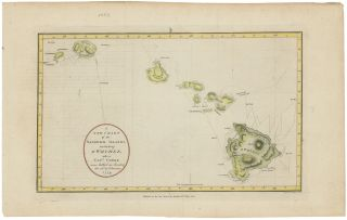 A New Chart of the Sandwich Islands, including Owhyhee where Captn. Cooke was killed on Sunday...