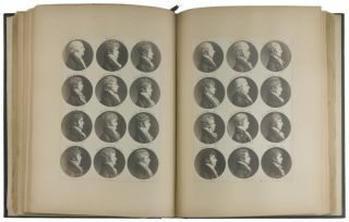 The Saint-Memin Collection of Portraits, Consisting of Seven Hundred and Sixty Medallion...