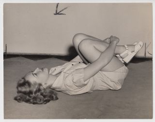 Twenty-Two Press Photographs of a Women's Fitness Program in Cleveland during World War Two.