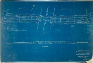 Greenpoint Ave. Bridge over Newtown Creek… Plan and Elevation. New York City, Greenpoint Avenue...