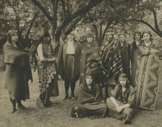 """A Collection of Twenty Photographs of """"Play Indians."""""""