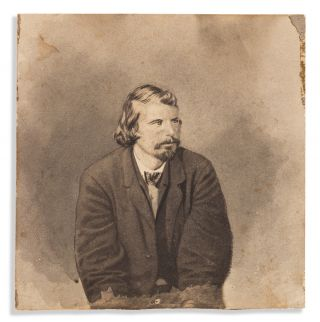 Five Retouched Photographs of the Lincoln Conspirators