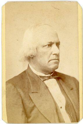 Carte-de-Visite Portrait of the Abolitionist Joshua Bowen Smith. African-Americana, Slavery,...