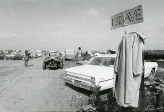 A Collection of Forty-Six Photographs of New Left Protests and Festivals, Presumably Taken by a Participant, c. late 1960s.