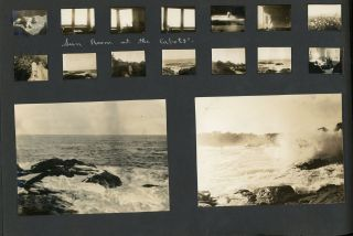 Photograph Album of roughly 1,400 Pictures Taken by a Young Woman with a Connection to the Cabot...