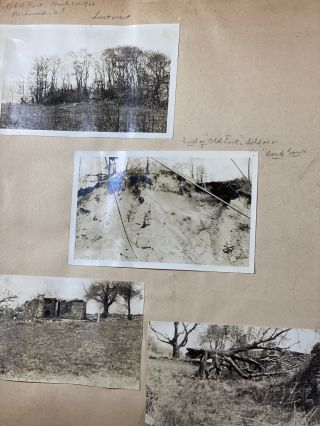 Scrapbook Documenting Archeological Expeditions for American Indian and Colonial American...