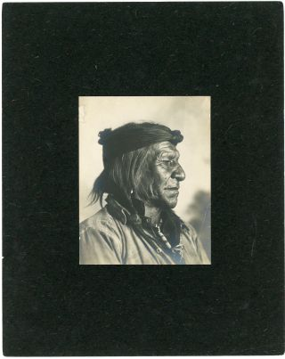 Seven Photographs of Crow including White Swan, Little Bear and One Star, c. 1900-1905.