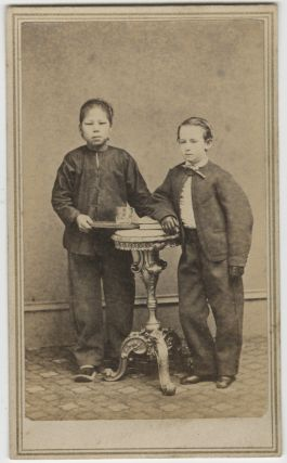 A Rare Suite of Twenty-Three Carte-de-Visite Photographs Documenting Chinese Persons in America...