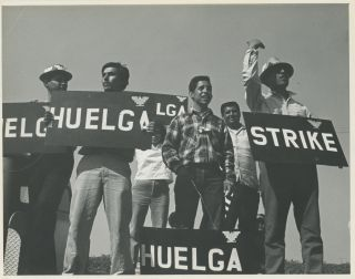 Collection of Twenty-Four Studio Prints of Delano Grape Strike Marches, ca. 1966-1969. Labor,...