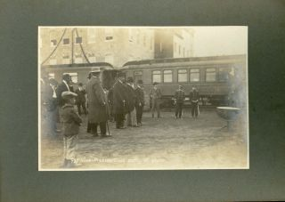 Some Photographs Taken at the Inauguration of the Uruapan Packing Plant, 18th January 1908.