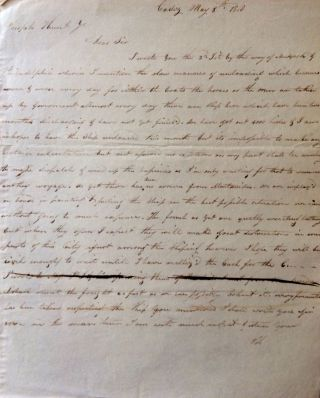 An Important Correspondence Archive Relating Primarily to Latin American Trade and Politics during the Wars of Independence from Spain, as well as Trade with China, with Allied Documents, 1809-1838.