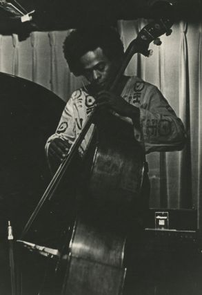 Collection of Nineteen Photographs of Jazz Musicians in Boston's Jazz Workshop and Lennie's on the Turnpike in Peabody, Massachusetts c. 1969 including Miles Davis, Pharoah Sanders, Freddie Hubbard, and Others.
