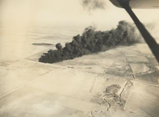 Collection of Twenty-Eight Mostly Aerial Photographs Taken in Texas and the Surrounding States c....