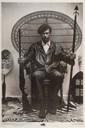 The Racist Dog Policeman Must Withdraw Immediately from Our Communities. Black Panthers, Huey Newton