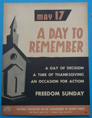May 17. A Day to Remember. A Day of Decision. A Time of Thanksgiving. A Day of Action. Freedom...